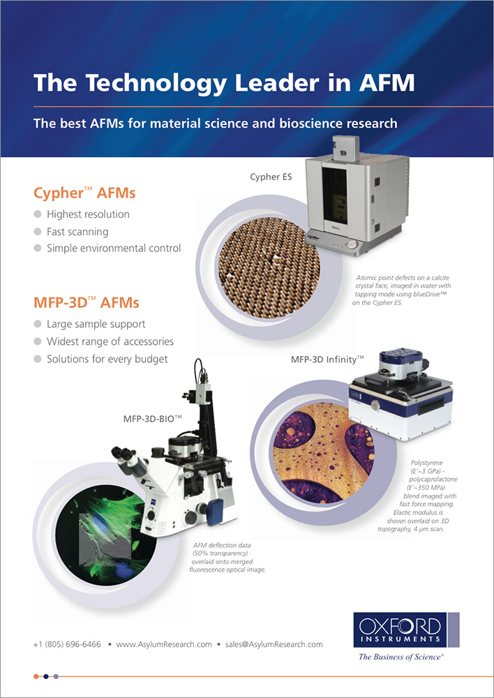 The Technology Leader in AFM