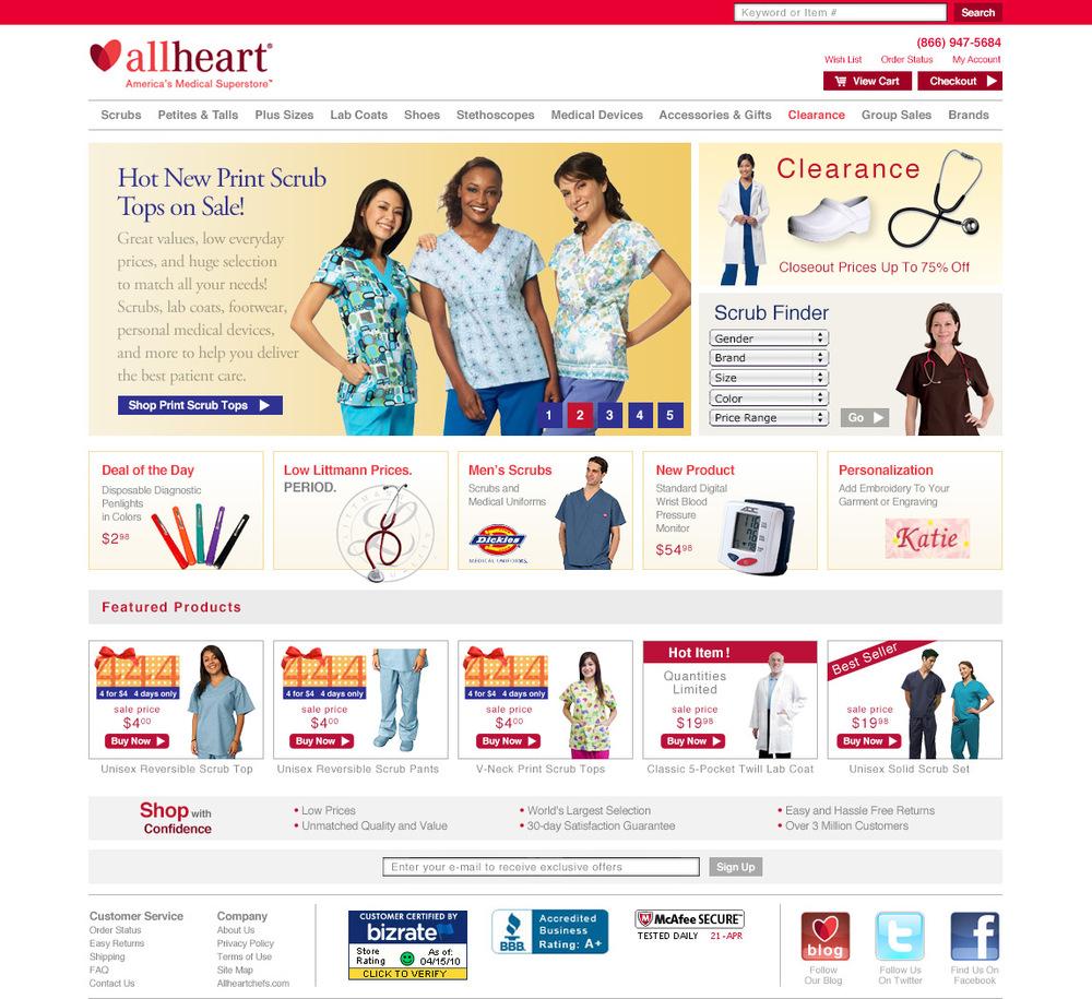 AllHeart Web Design