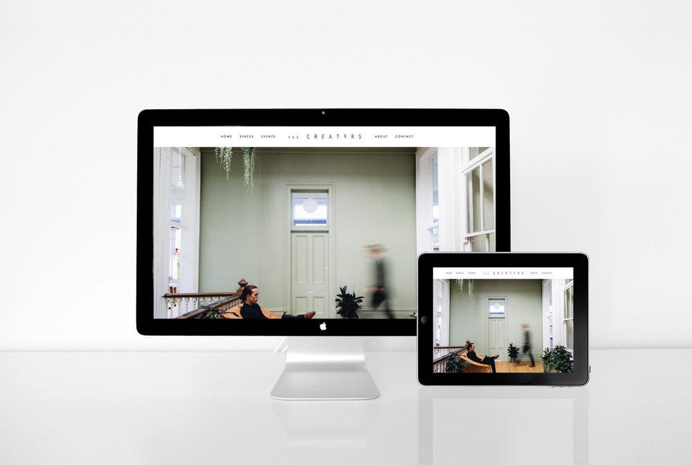 Squarespace Website Design |The Creators Collective |2017