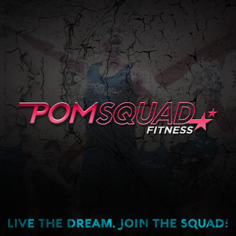 - POMSQUAD™ is a super fun, immensely positive, high energy dance fitness class!   You'll be shaking your poms while prancing, dancing, bending, and snapping to today's hits and yesterday's favorites.  Inclusive, encouraging, and easy to follow classes are designed to maximize caloric burn while strengthening and toning the body.  Featuring a variety of dance styles and unique choreography, there is something for every type of spirit leader in each and every class.