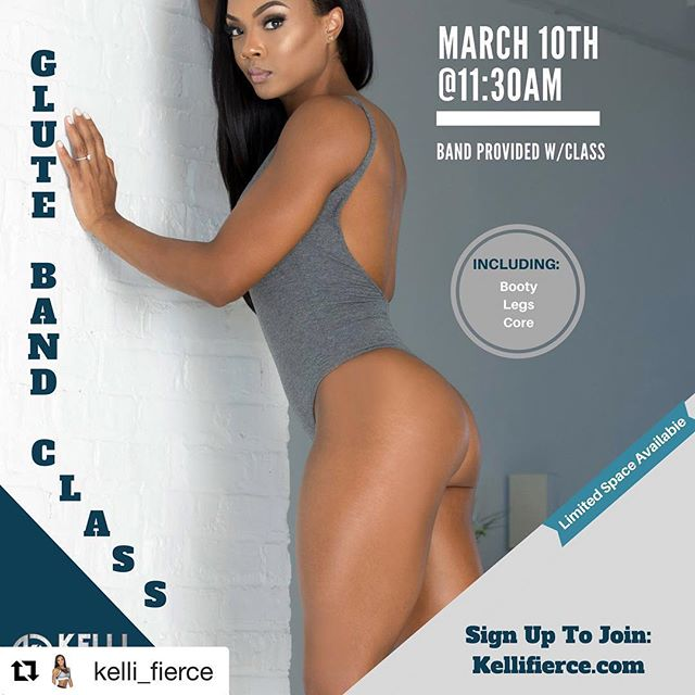Want a tighter butt and got some spare time tomorrow? Well we got a class just for you!!!! #gym #glutes #buttworkout #legday