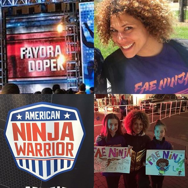We can't say how proud we are of our own #americanninjawarrior @faydra_fae_ninja  She puts in the hard work, so look out for her in a upcoming episode!!