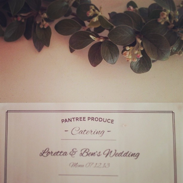 Beaitiful wedding last night for Loretta and Ben, congratulaions! Everything went well and thanks to our wonderful helpers