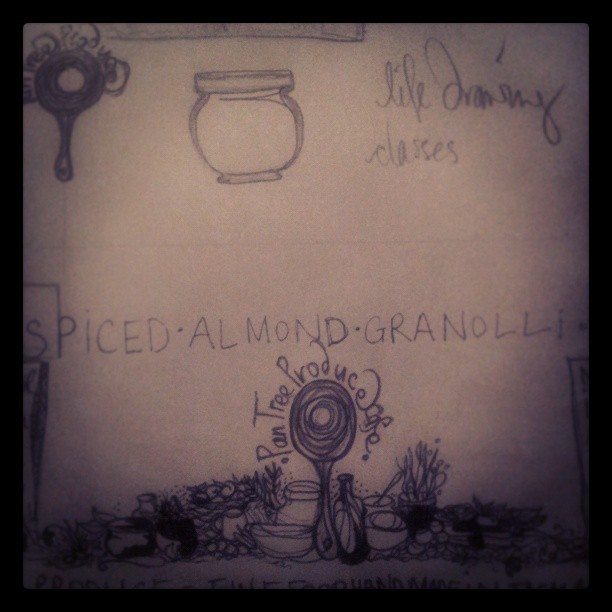 New label sketches