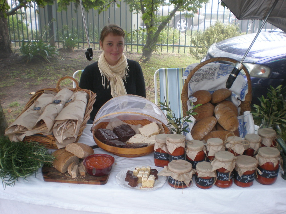Leura markets a couple of months ago