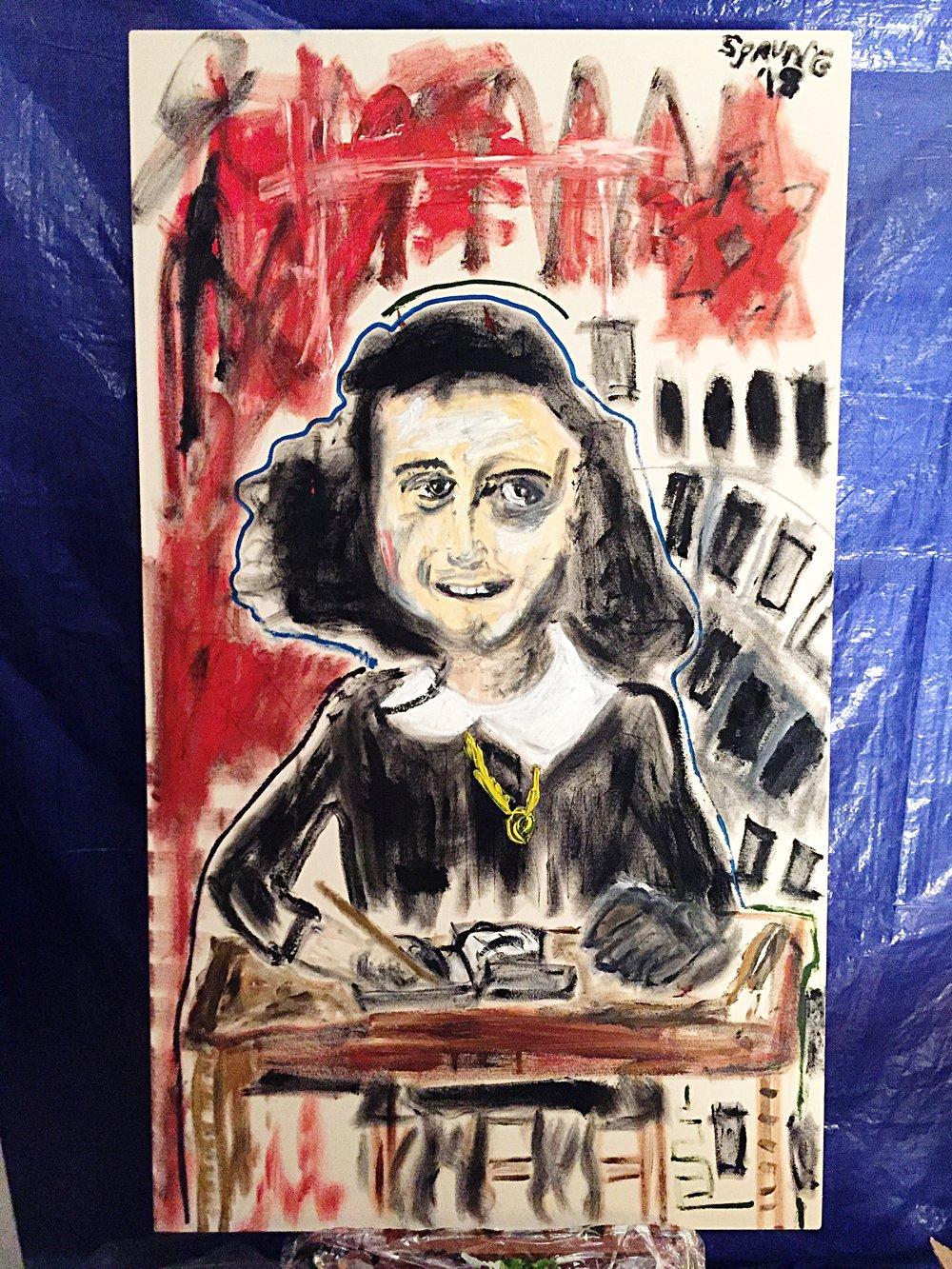Indomitable Positivity (Anne Frank)
