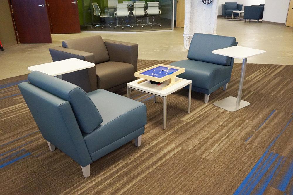 HON Grove Seating & Rouillard Tables