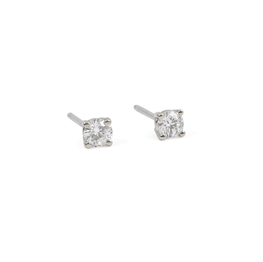 14e08b1f7 Jewelry By Marsha — Small Diamond Stud Earrings