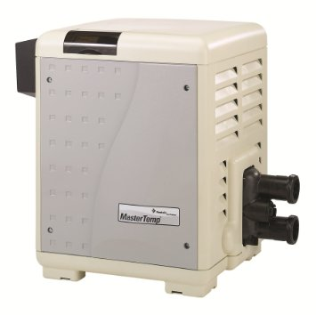 Pentair Mastertemp gas heater for swimming pools and spas.