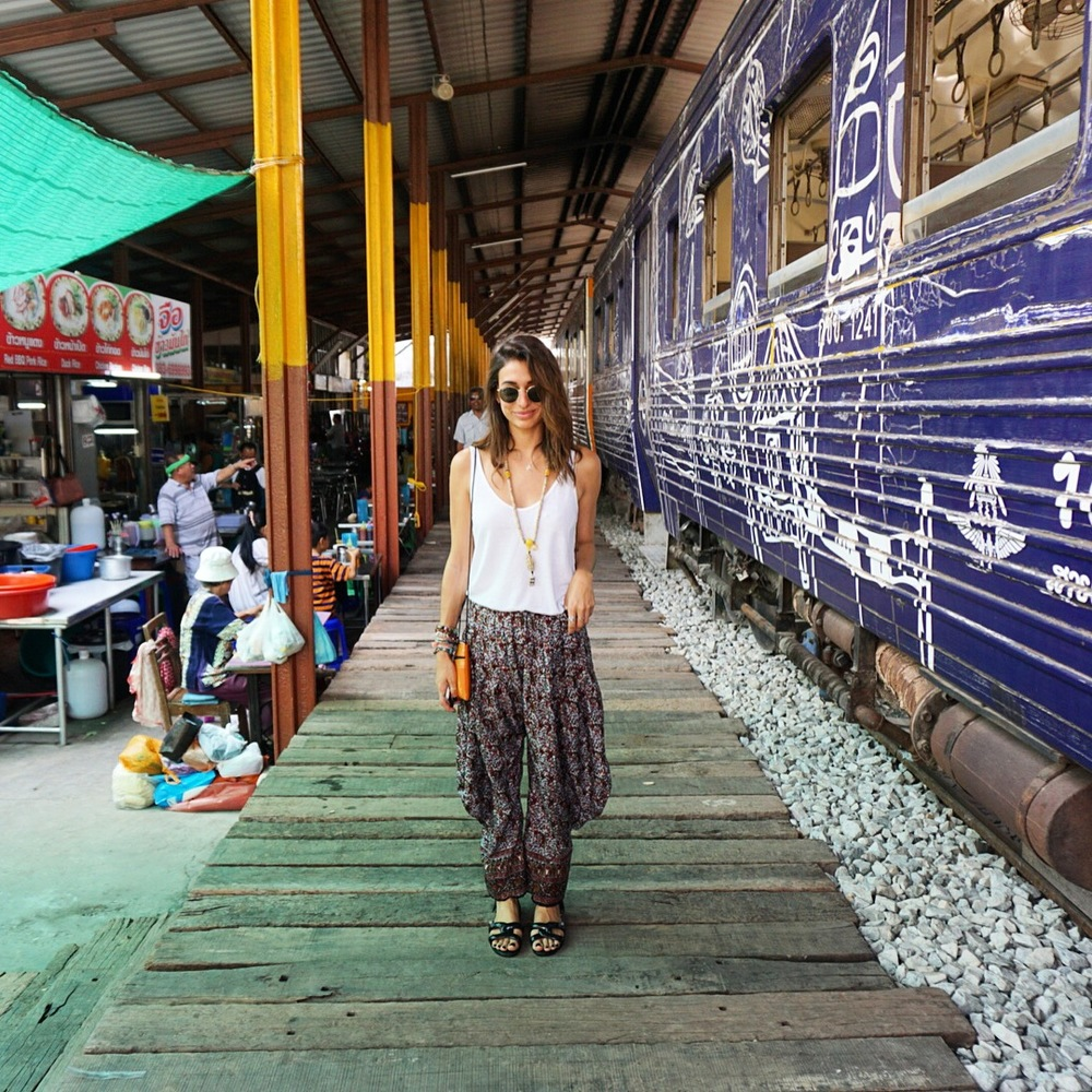 Mae Klong Train Market