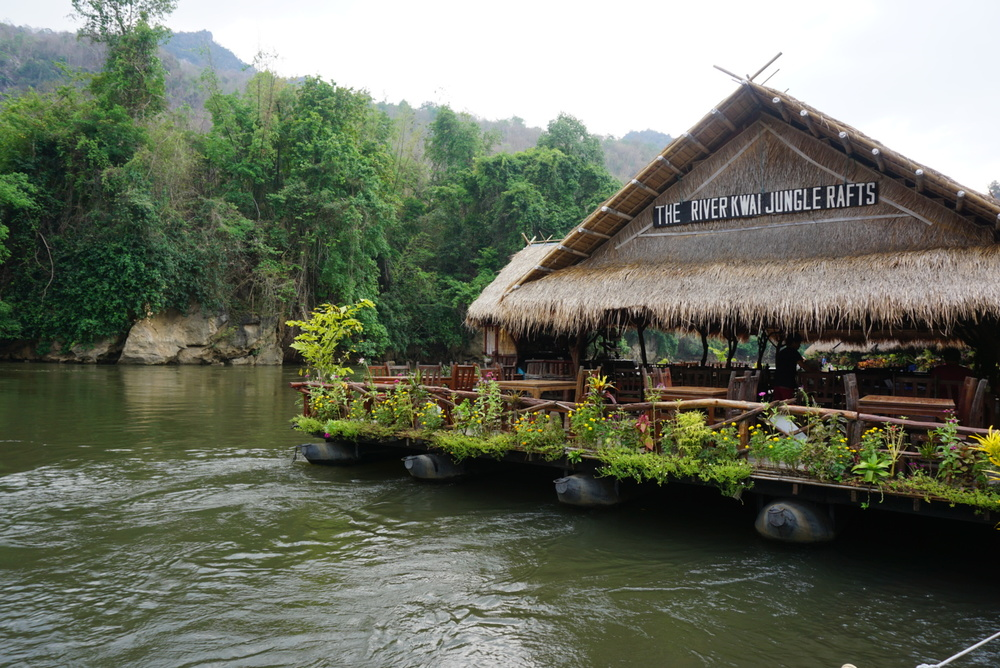 River Kwai Jungle Rafts Eco Hotel