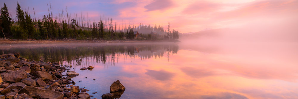 Elk Lake Sunrise