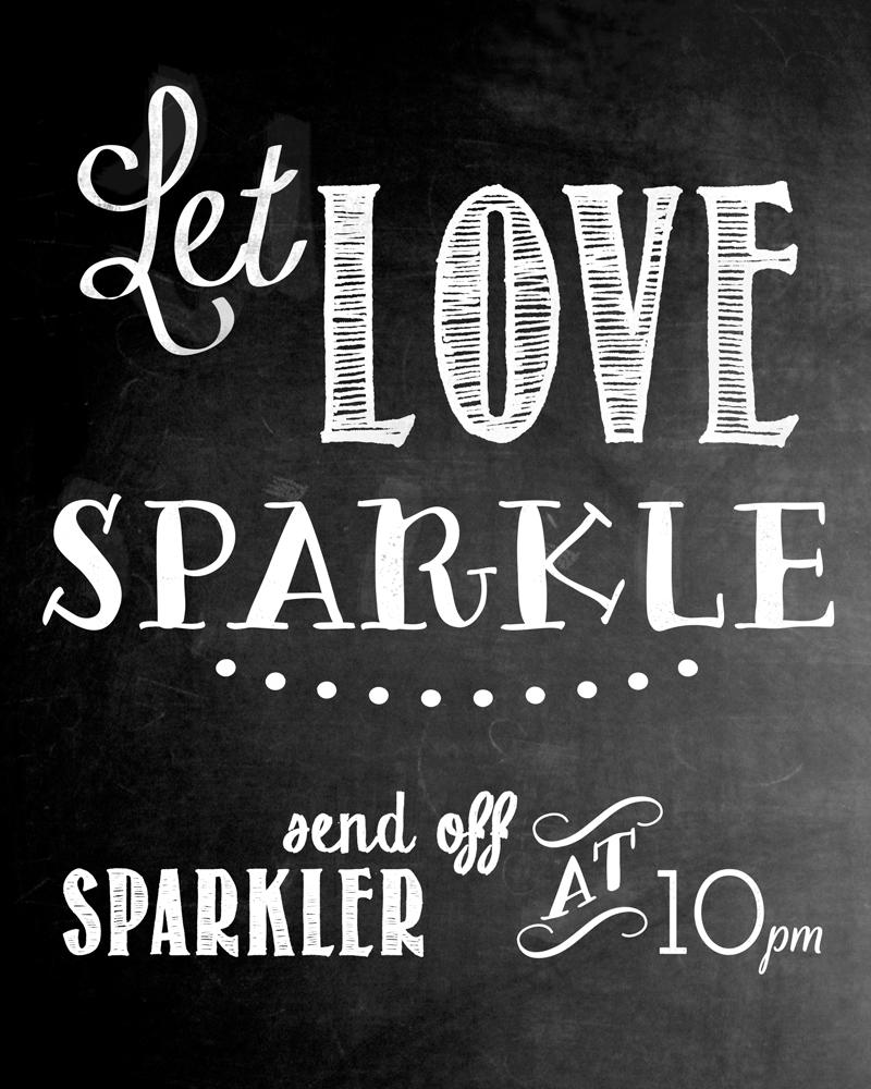 sparkler-chalkboard