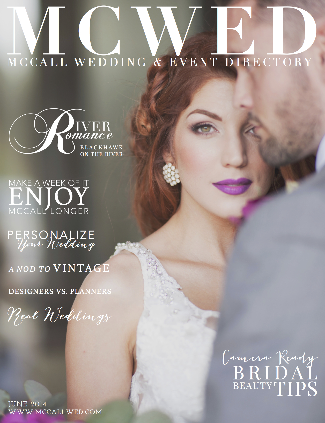 McWed Magazine Cover