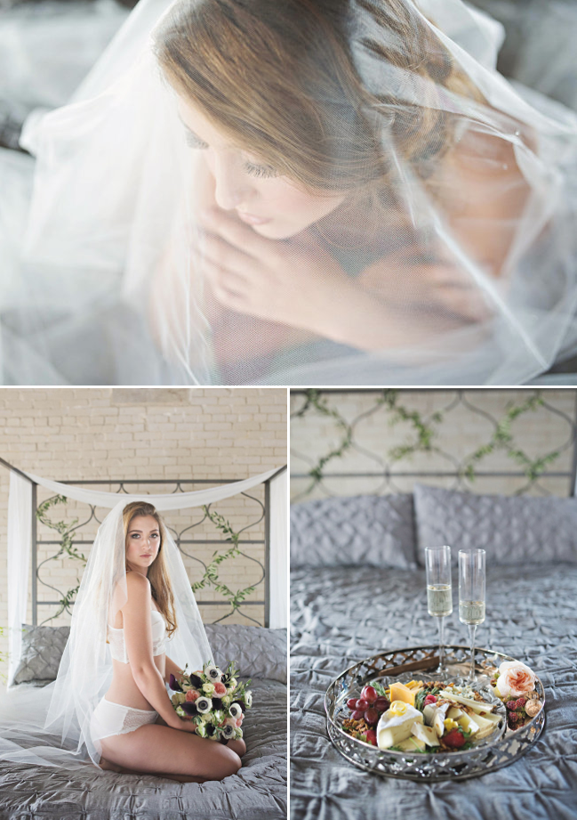 Bride Groom Boudoir