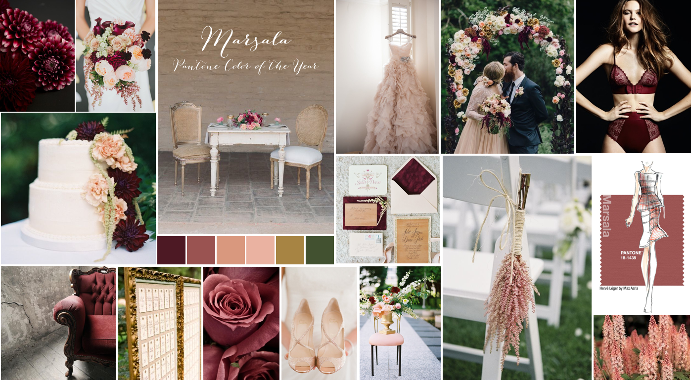 marsala idea board
