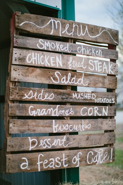 TONS OF GREAT IDEAS Of How To Utilize Recycled Wood Pallets Are All Over Pinterest And Leading Wedding Blogs You Can Check Out Some Our Favorites