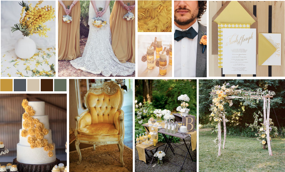 yellowweddingboard