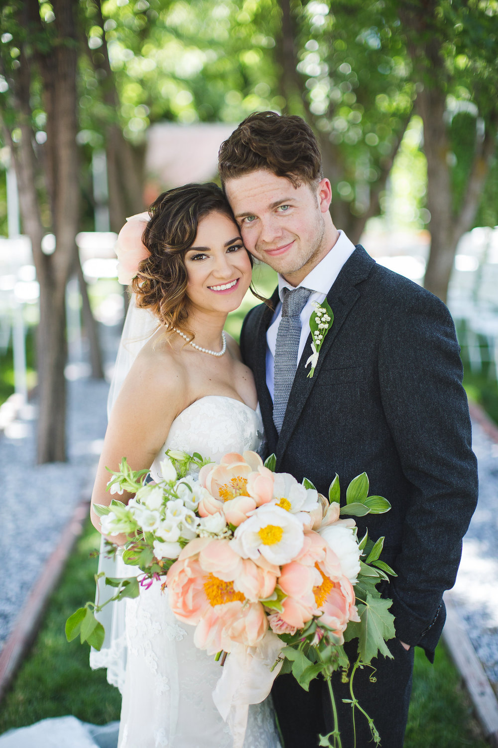 Makayla and Mike French Garden Wedding, Ira and Lucy Coordination and Design, Let It Shine Photography