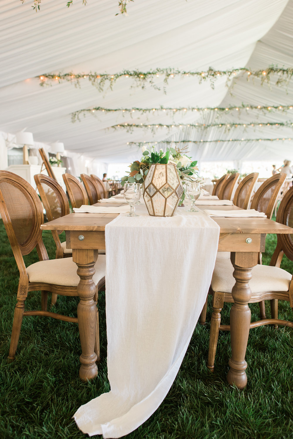 Ira + Lucy Farm House Table Rentals