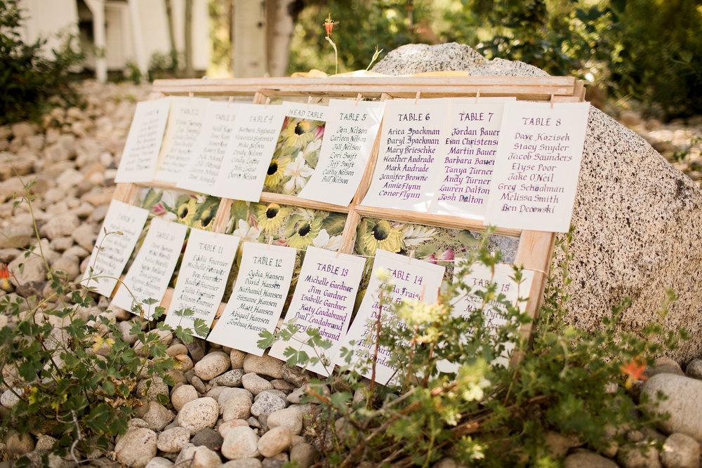 Ira and Lucy Wedding Planner, Jesse Hart Photography, Tamarack Wedding