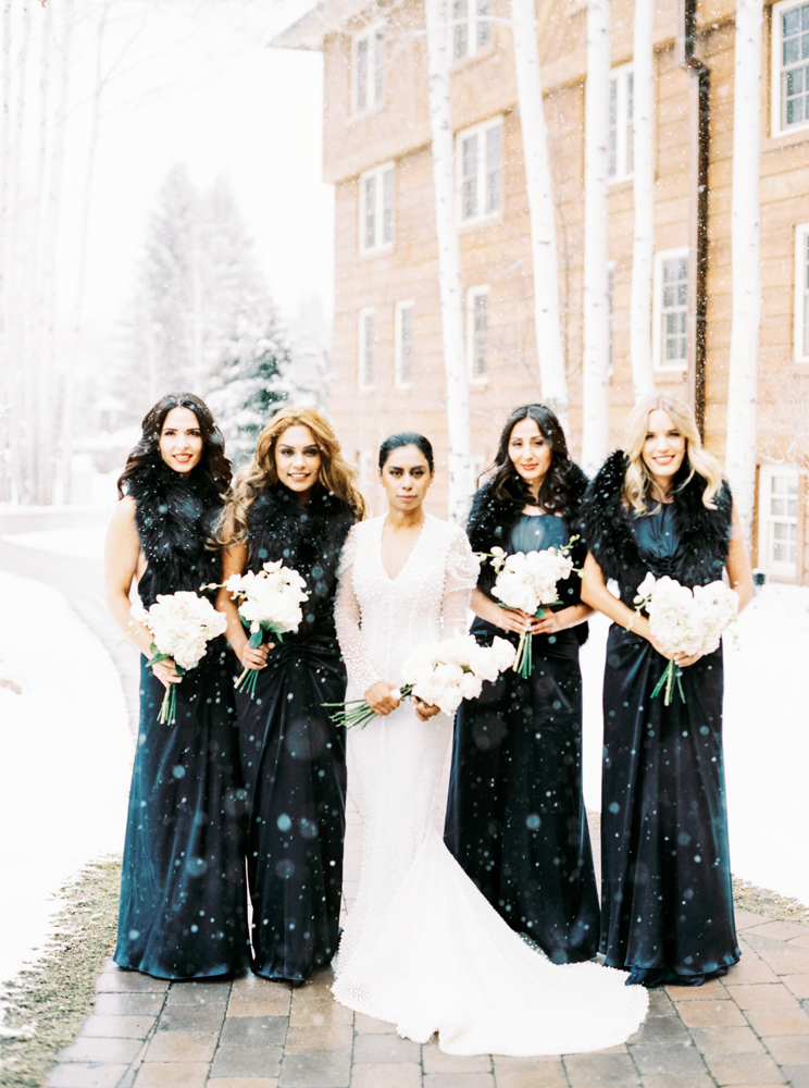 Sophine and Caspar, Winter Wedding Sun Valley, Ira + Lucy Wedding Planner, Kendra Elise Photography