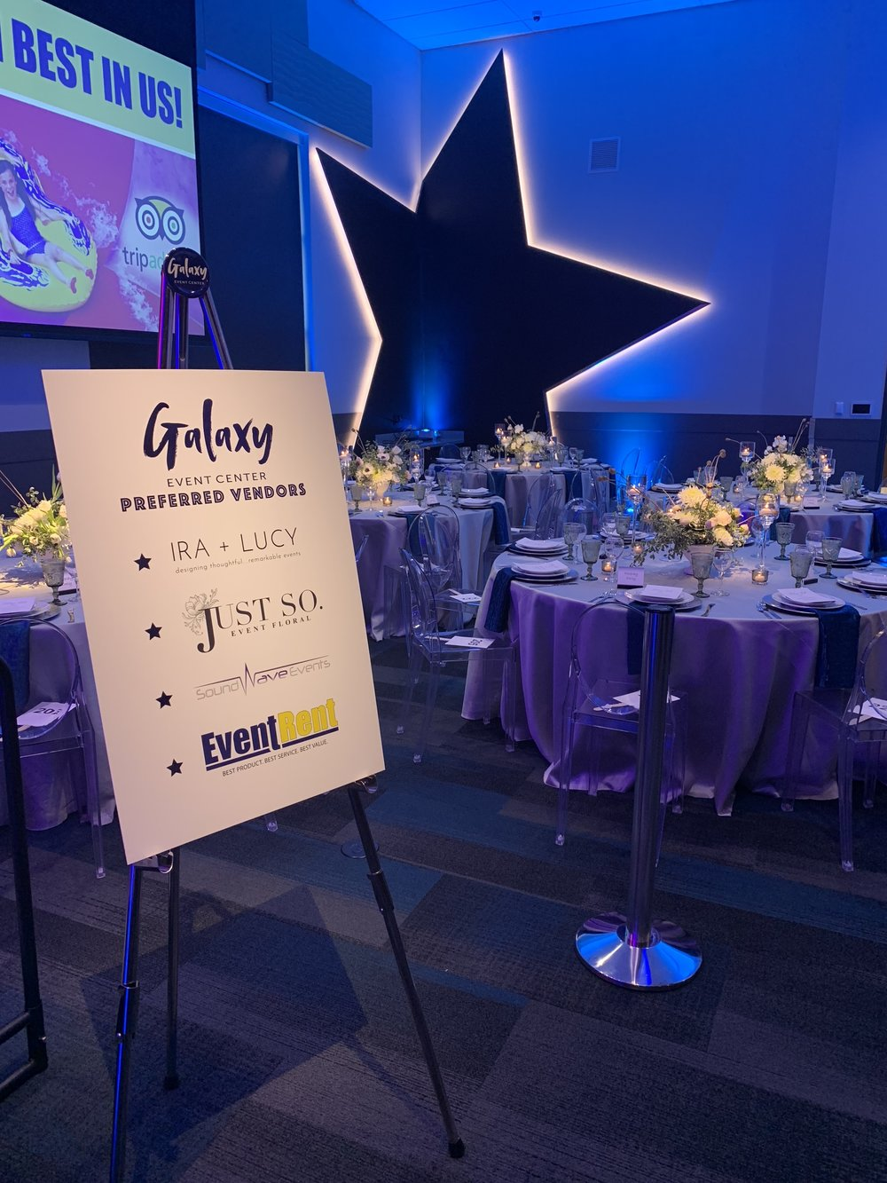 Galaxy Event Center, Meridian Idaho, Corporate Planner, Corporate Event, Event Designer