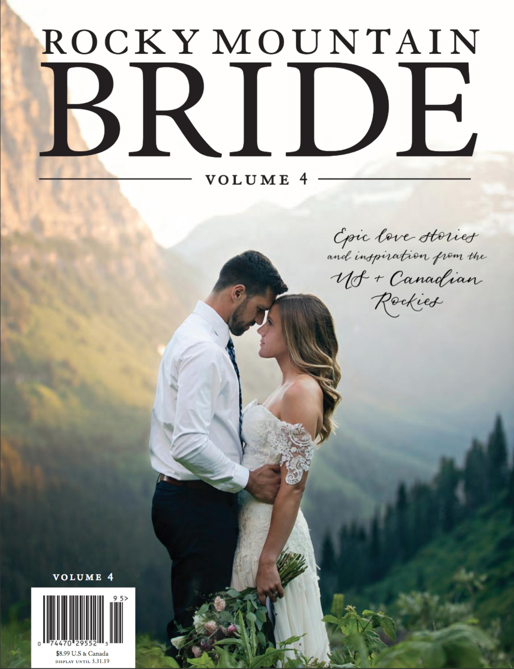 Rocky Mountain Bride Magazine Volume 4