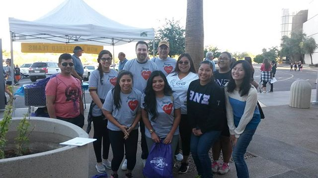 TY to Theta Nu Xi Multicultural Sorority @ASU for your support at the Kiwanis Walk!