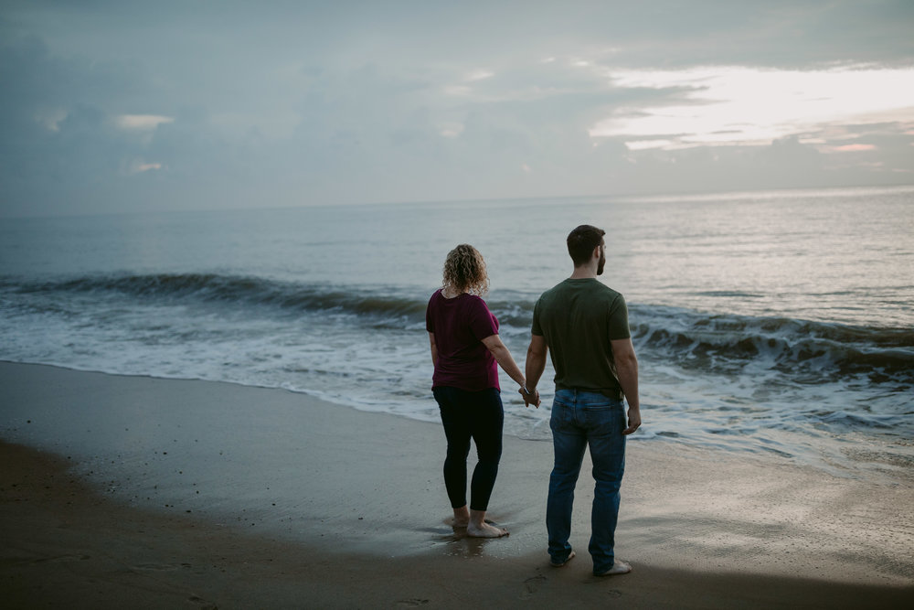 bethany beach engagement
