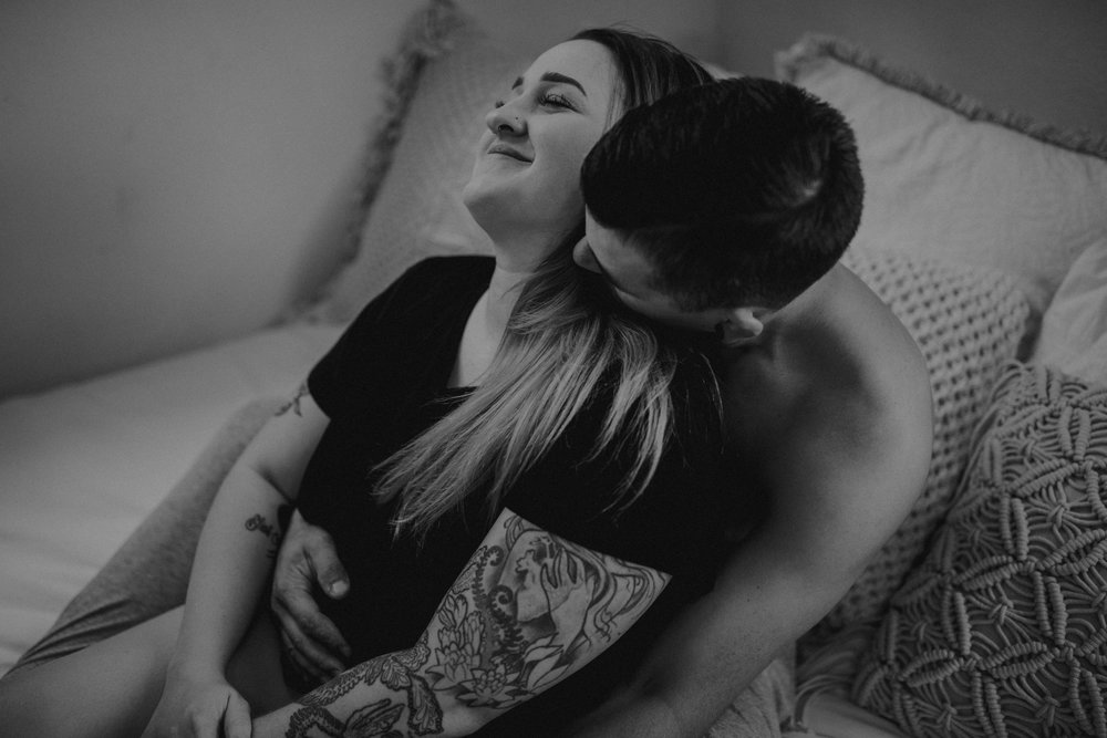 Intimate Couples Boudoir Session
