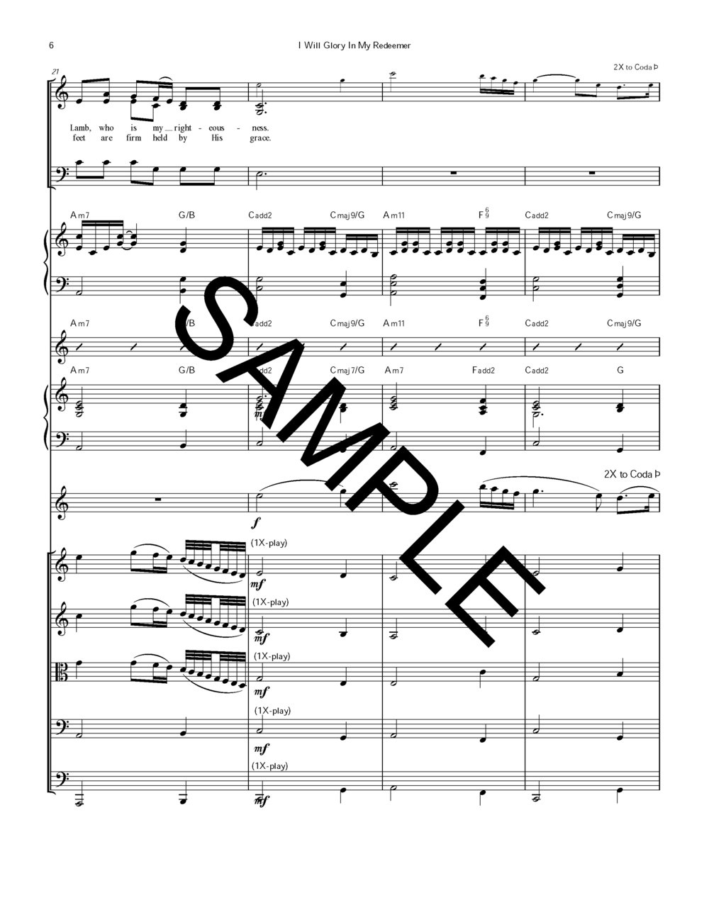 Sample I Will Glory in My Redeemer #196 Strngs Ob Piano Chrd Chrt Orgn M Rice arr_Page_19.jpg