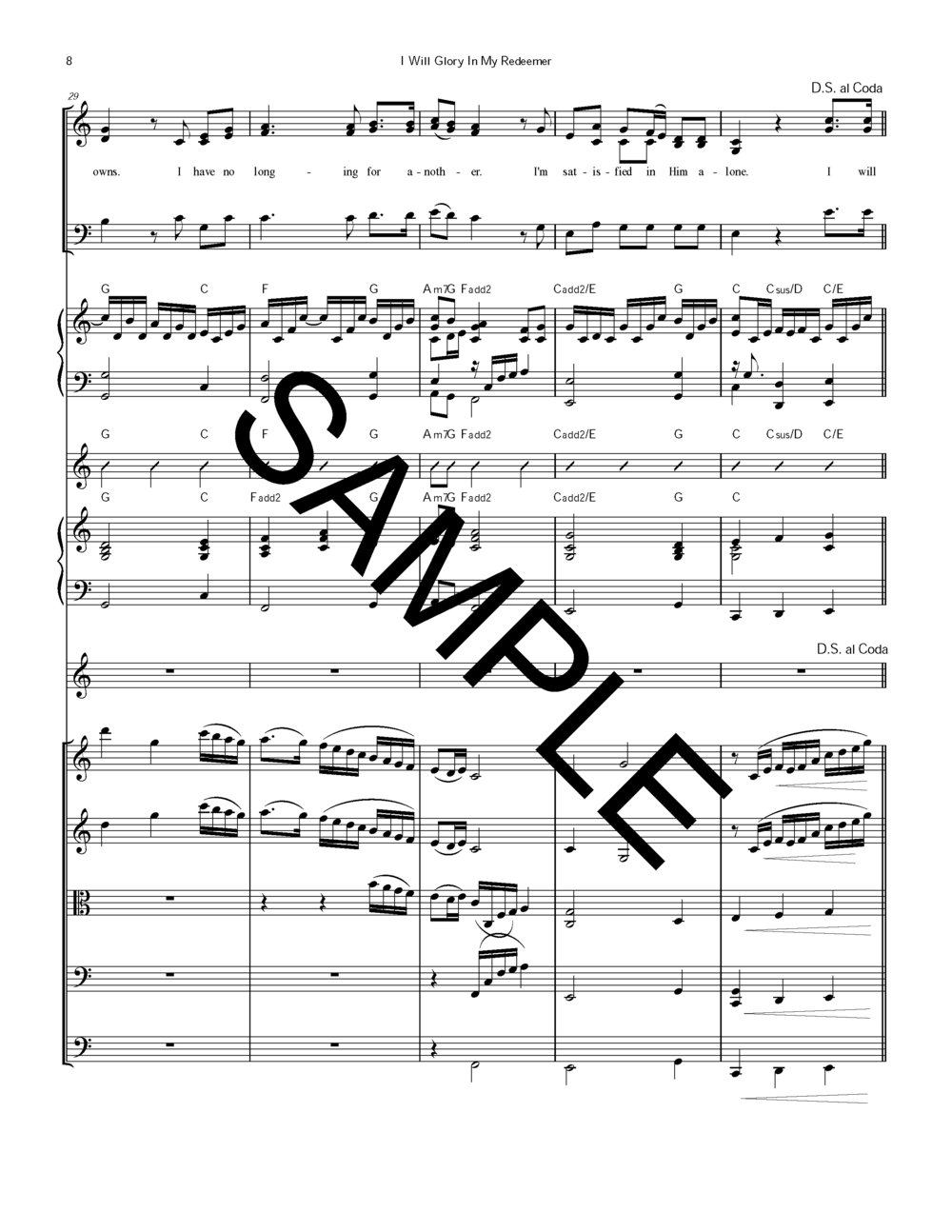 Sample I Will Glory in My Redeemer #196 Strngs Ob Piano Chrd Chrt Orgn M Rice arr_Page_21.jpg