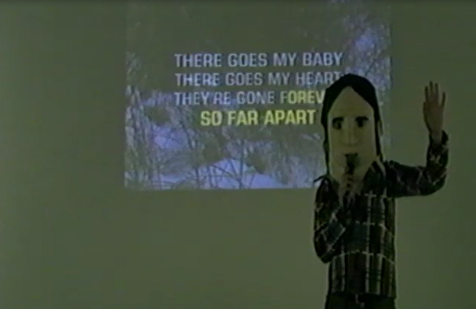 "Still from ""One Night Only"" (2015), unique three hour karaoke performance at West Virginia Wesleyan College"