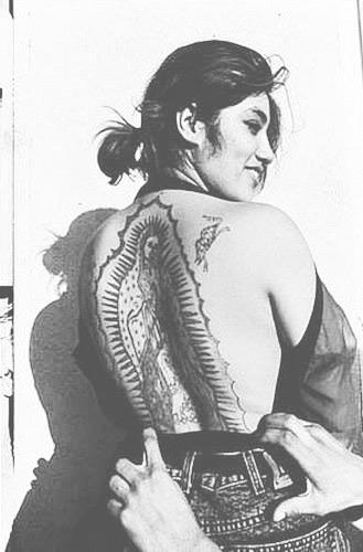 mexandthecity :    M&TC: WCW because a  Virgen de Guadalupe  back tattoo is next level    Dream tat 😍