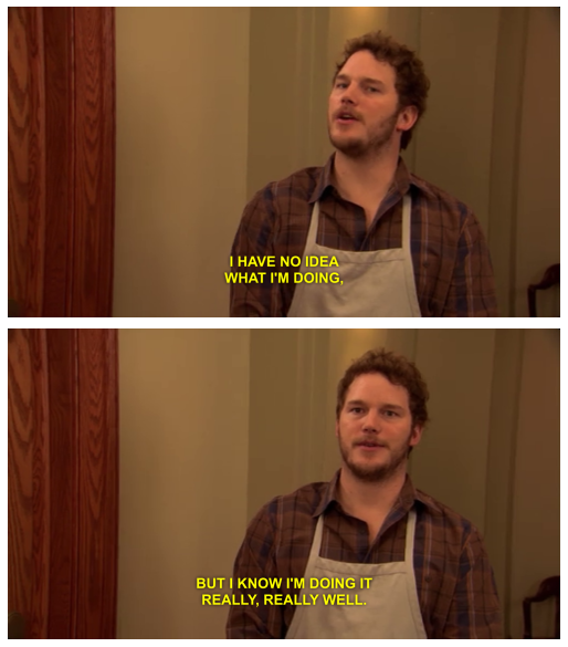 redditfront :     The Zen of Chris Pratt: Act without Acting     Story of my life.