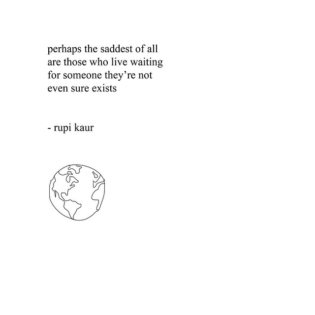 rupikaur :       7 billion people   - page 143 of  milk and honey