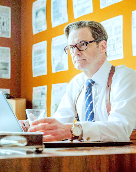 alanprickman: Colin Firth in Kingsman: The Secret Service [2015]