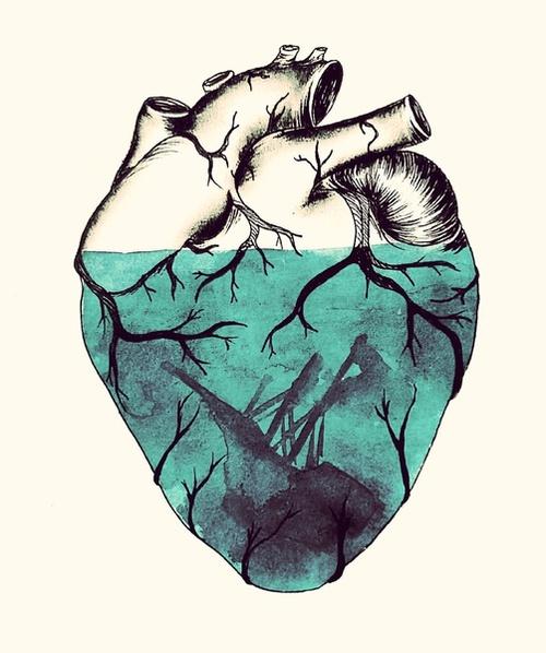 amamesintemor: llorar a mares el corazon.