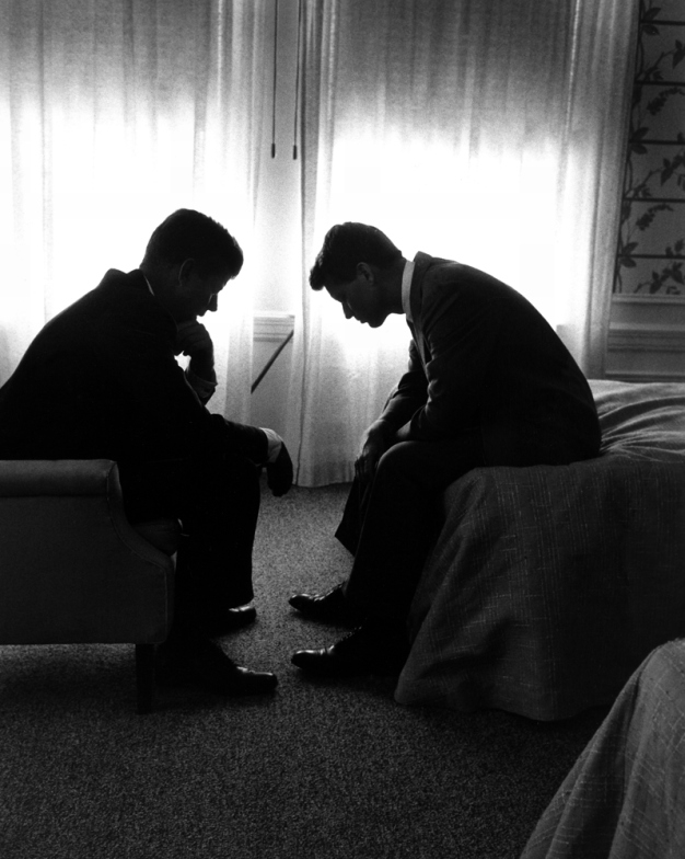 life :     Jack and Bobby Kennedy, Los Angeles, 1960: Is this the greatest photo ever made of how politics really works?   Read the story on   LIFE.com  .   (Photo: Hank Walker—Time & Life Pictures/Getty Images)