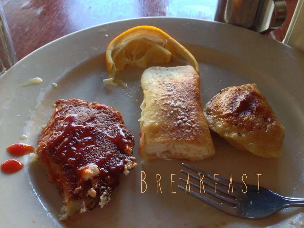 Breakfast Aftermath.