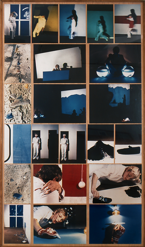 thecamhouston :      Gina Pane    Action Little Journey (I)   (detail)   , 1978   Constat d'action réalisée au Museum Moderner Kunst, Vienna   22 color photographs mounted on panel and 1 black and white photograph   75 x 431/2 inches (panel)   Documented by: Françoise Masson   Collection FRAC Bretagne, Rennes, France   © Adagp   Photo: Hervé Beurel     Coming to CAMH;  click here for details .      Fresh