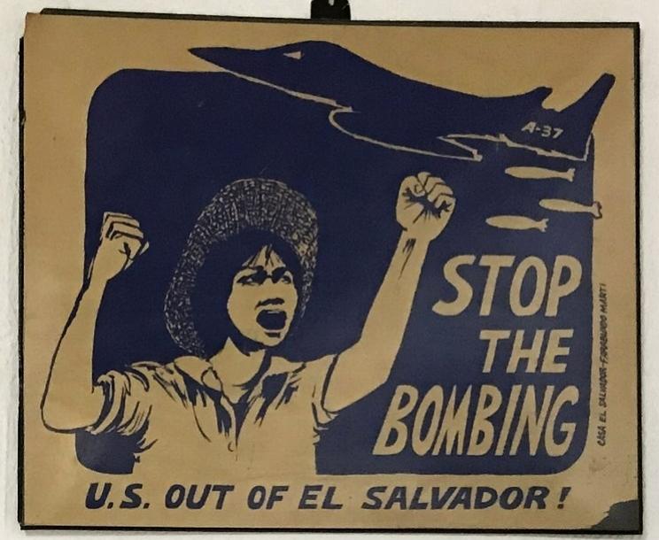 Poster by Casa El Salvador - Farabundo Marti