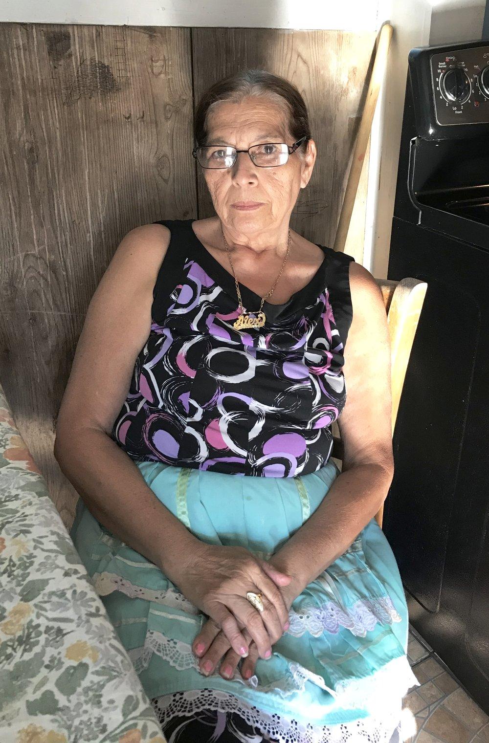 Retrato de Tia Lena