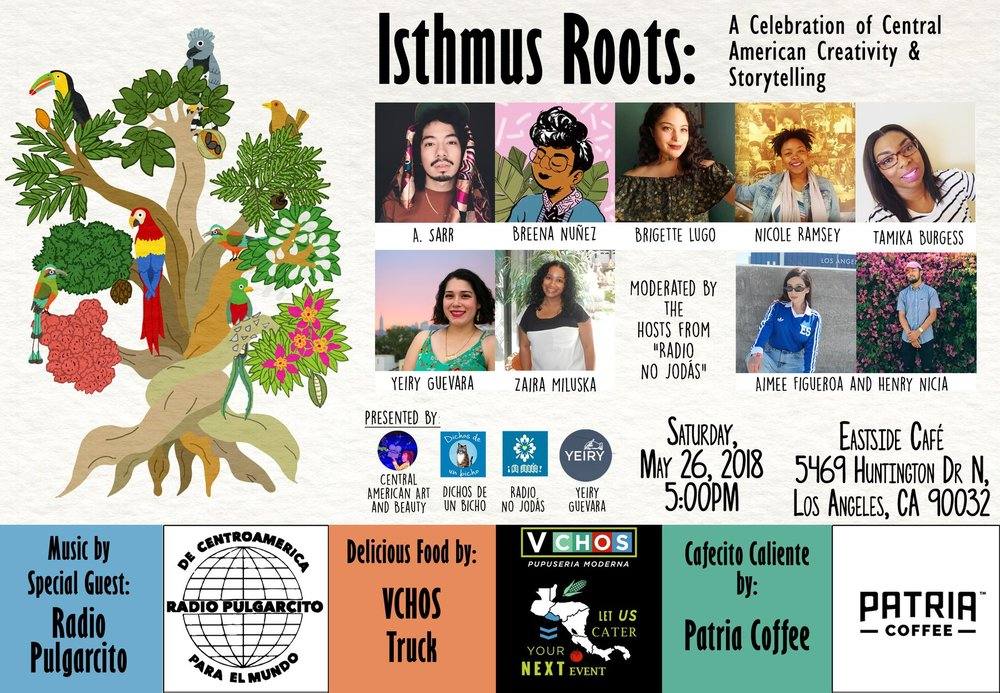 Event flyer designed by Victor of  Dichos de un bicho