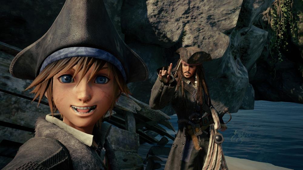 Selfie with Captain Jack Sparrow