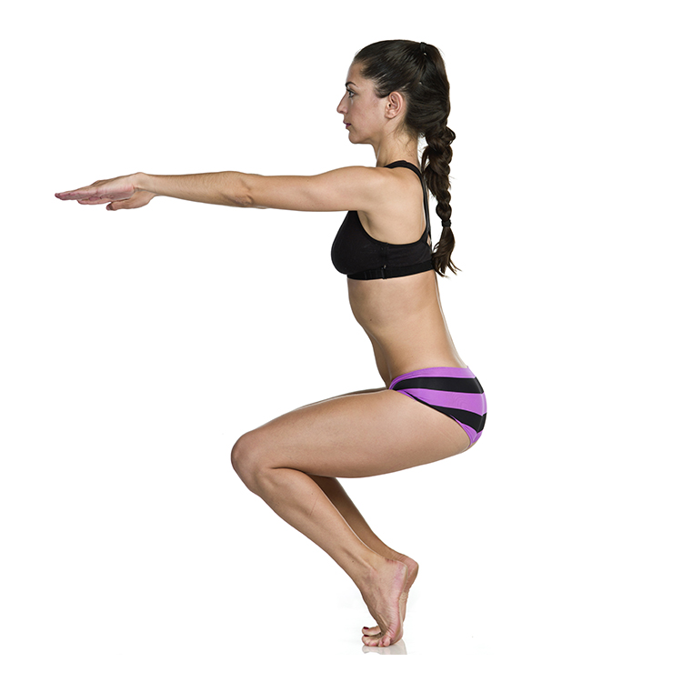 Chair Pose- Utkatasana