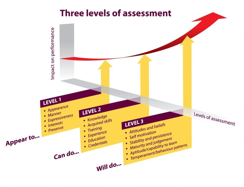 Three Levels of Assessments