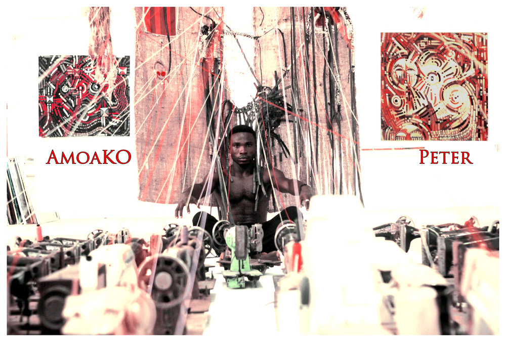 Amoako Peter 2017 Installation (Ghana)