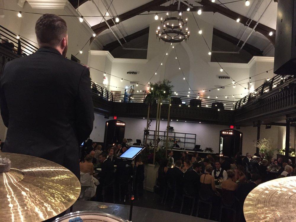 Wedding jazz band the transept
